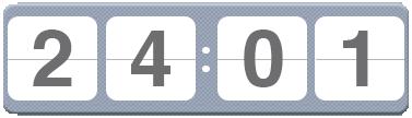 Countdown Millas Blick