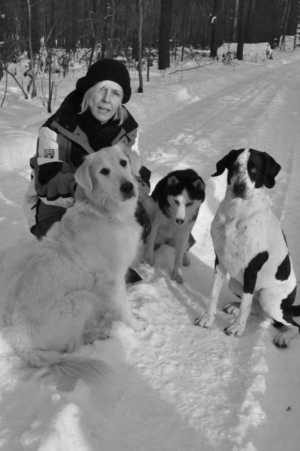 Mila und Hundefreund Elvis